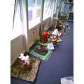 Our model volcanos.