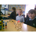 Making catapults for our Norman topic.