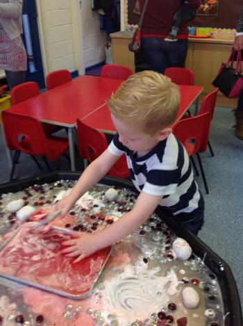 Exploring our messy play Dragon's Lair