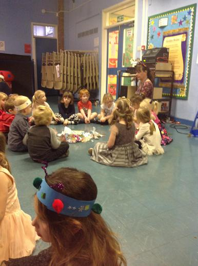 All excited about pass the parcel!