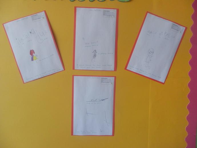 We have been doing lots of fantastic writing.