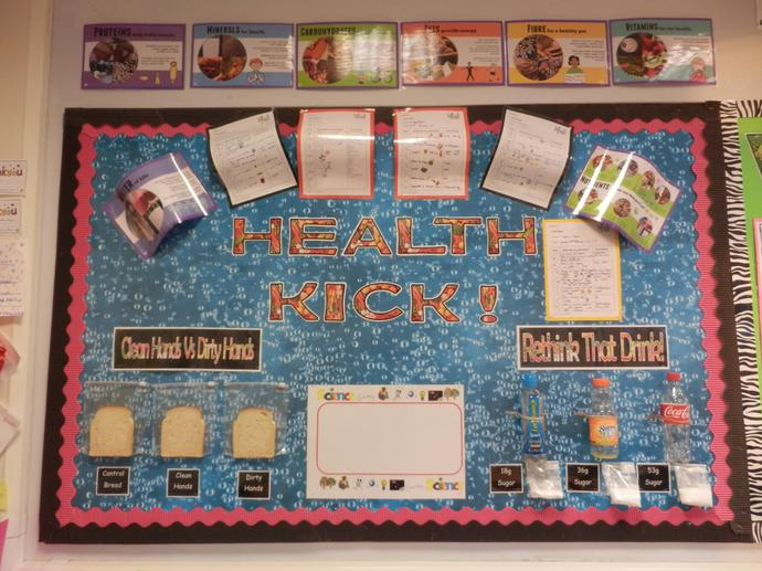Food diaries show that 5SP love fruit and veg!