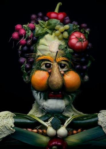 Fruit and Veg Face Inspiration