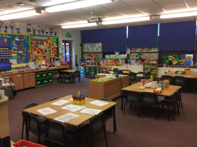 One of the EYFS classrooms.