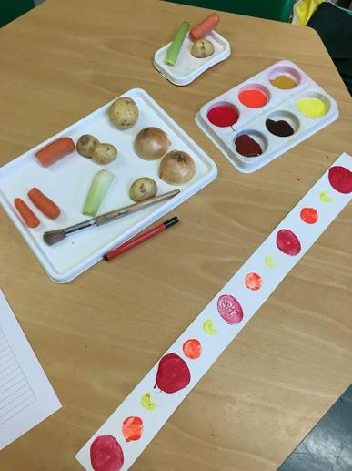 Making repeating patterns by printing
