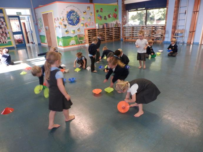Cones and dishes in PE