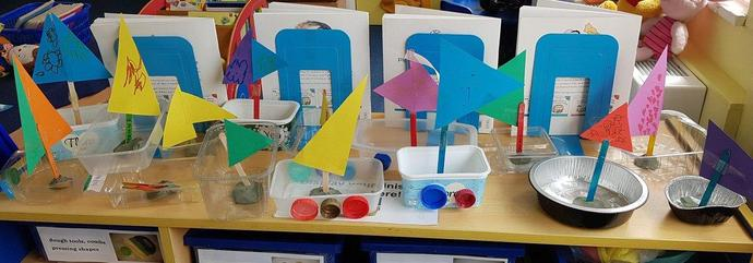 Make a boat - Will it float in the bath?