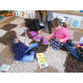 Language development, sharing and taking turns