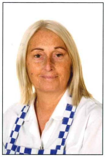 Mrs Bev Lamb - Kitchen Assistant