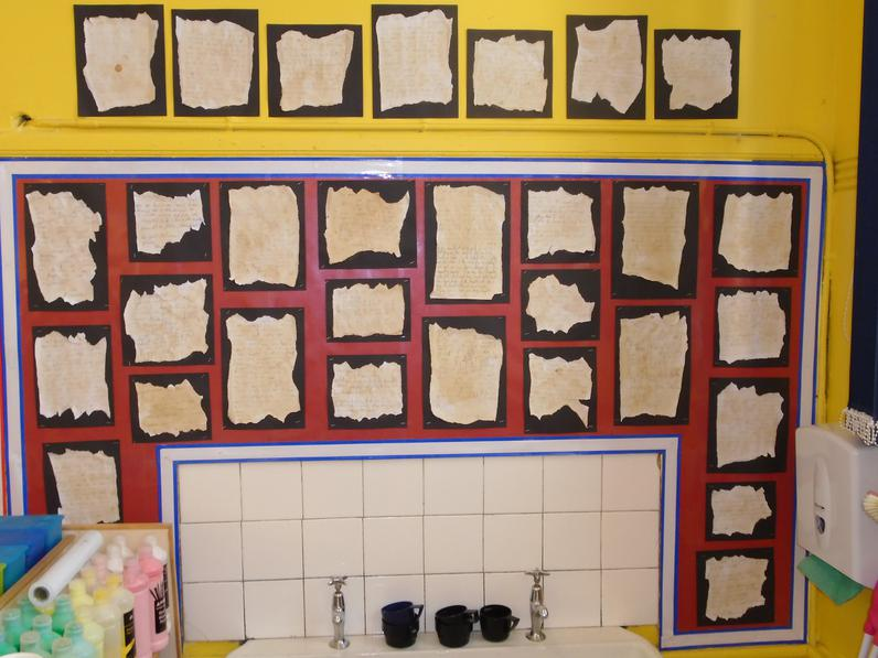 Year 2 Florence Nightingale letters.
