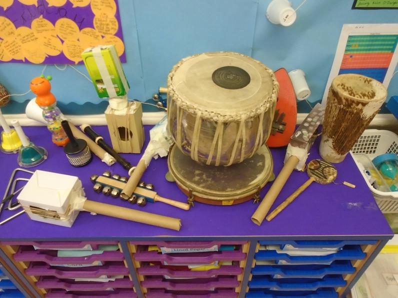 Instruments we have made and ones we've explored.