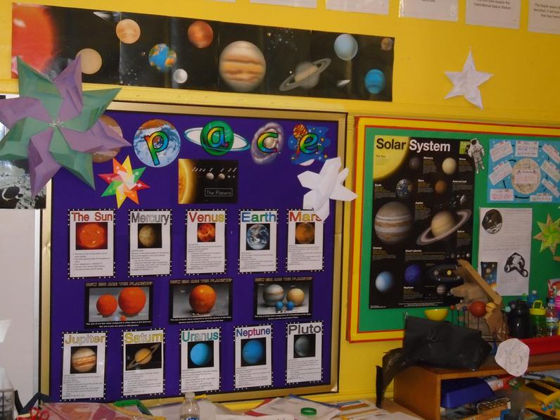 Year 6 Space topic.