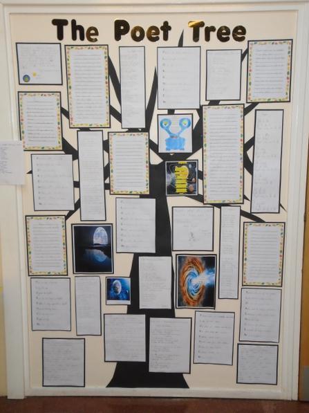 Whole school Poet Tree!