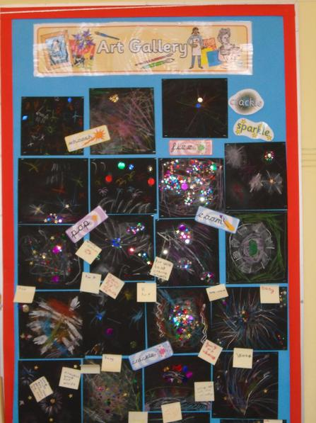 Year 1 Bonfire Night pictures.