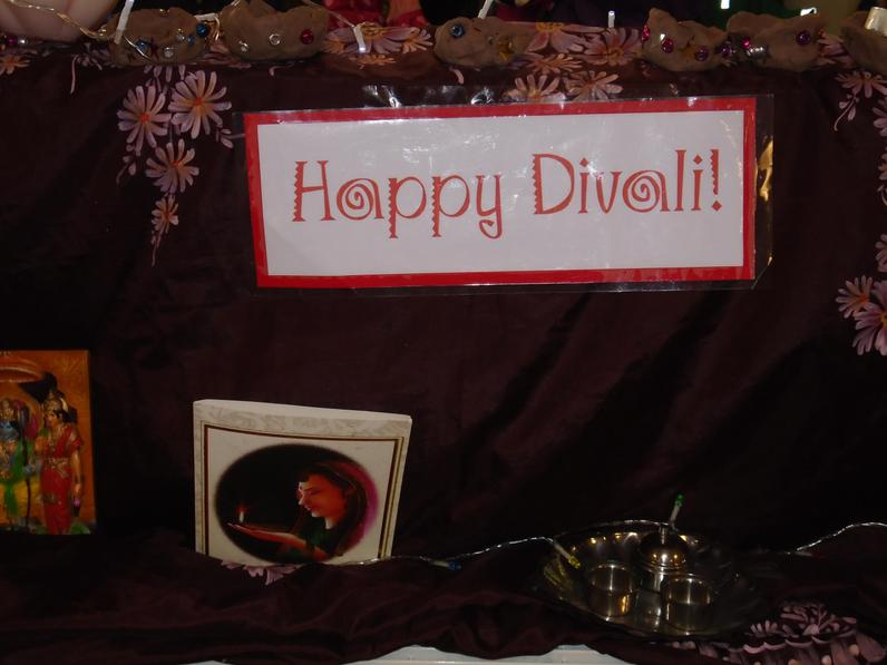 Reception learn about Diwali.