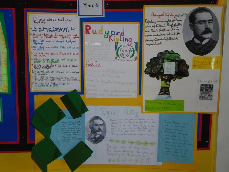 Rudyard Kipling by Year 6.