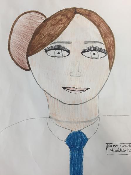 Miss Scudder, Head teacher