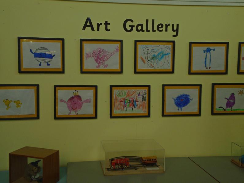 Art Gallery - Year 1 work.