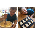 Zeke: Teddy shortbread biscuits