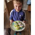 Jack: Dinosaur iced buns