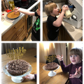 Will: Cheesecake for his brother's 14th birthday