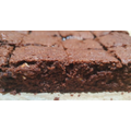 Abhi: Chocolate brownies with cashew nuts