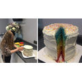 Lillie: Rainbow cake