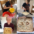 Samuel: Apple crumble