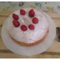 Jessica: Victoria sponge cake