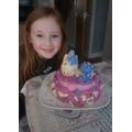 Jazmine: Unicorn cake