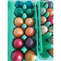 Coloured eggs by Constantine