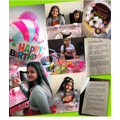 Aalisha planned her little sister's birthday