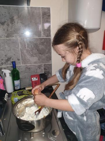 Melissa has been baking at home too!