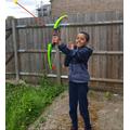 Archery practice!