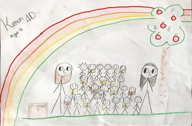 Keren's wonderful drawings!