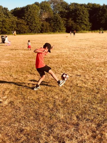 Affan's football ⚽️ skills - watch out Mr Jung!!