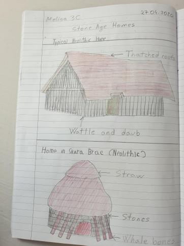 More on Stone Age homes - Beautiful work Melisa ⭐️