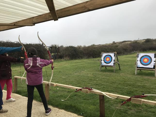 We loved learning the skills of archery!