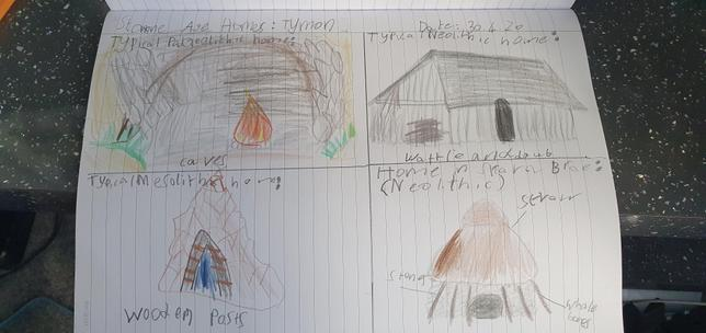 Stone Age homes - how they are made - Melisa ⭐️