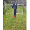 Well done Ilyas! He built a goal!