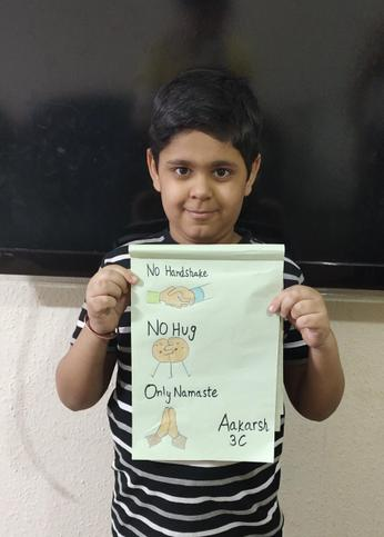 Aakarsh made an amazing poster - Star of the Week
