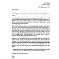 Excellent letter by Umar!