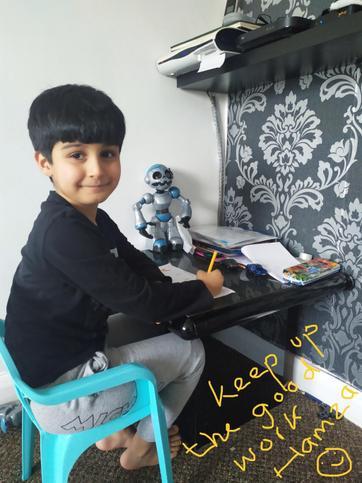 Well done to Hamza!⭐️⭐️⭐️