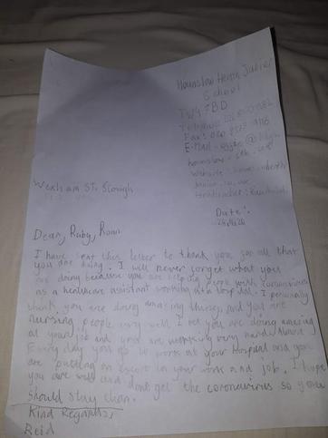Reid's Letter