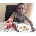 Abdullahi's skittle experiment