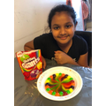 Aalisha's Skittle experiment