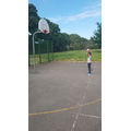 Muhammed Playing Basketball