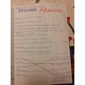 Dunuvara's Fronted adverbials