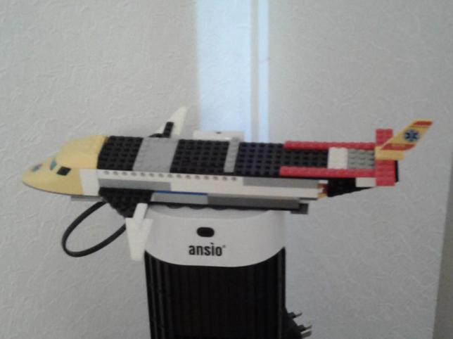Vismay made a Lego aeroplane