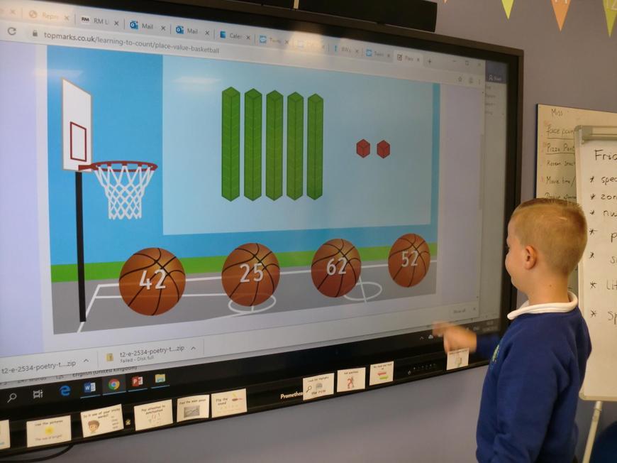Interactive  numeracy